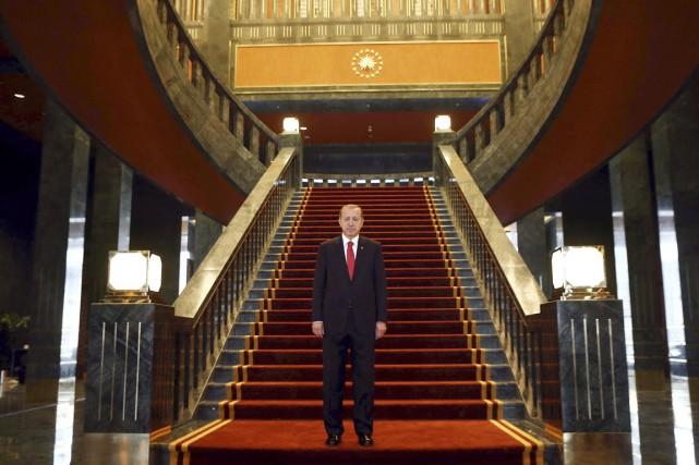 À la tête du pays depuis 2003, le... (PHOTO ADEM ALTAN, ARCHIVES AFP)