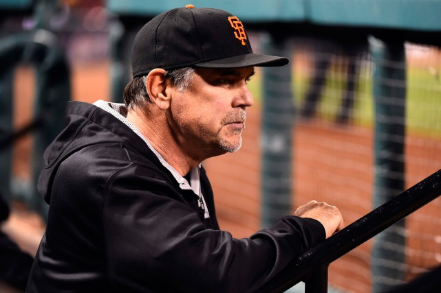 Le gérant des Giants de San Francisco, Bruce... (Photo Jasen Vinlove, USA Today Sports)