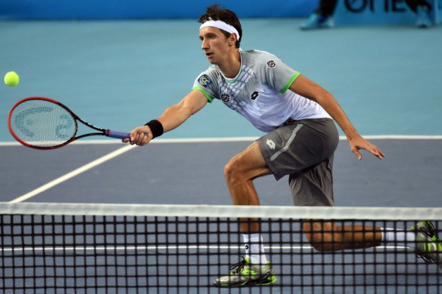 Sergiy Stakhovsky... (Photo Anne-Christine Poujoulat, AFP)