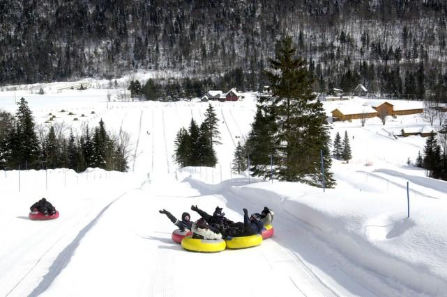 Trois idées d'activités à faire en famille dans différentes régions du Québec. (PHOTO FOURNIE PAR LES GLISSADES DE TEWKESBURY)