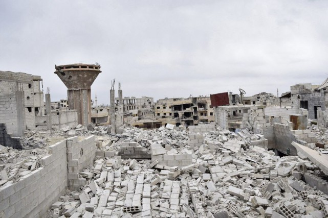 La Syrie est déchirée depuis presque quatre ans... (Photo Yousef Homs, Reuters)