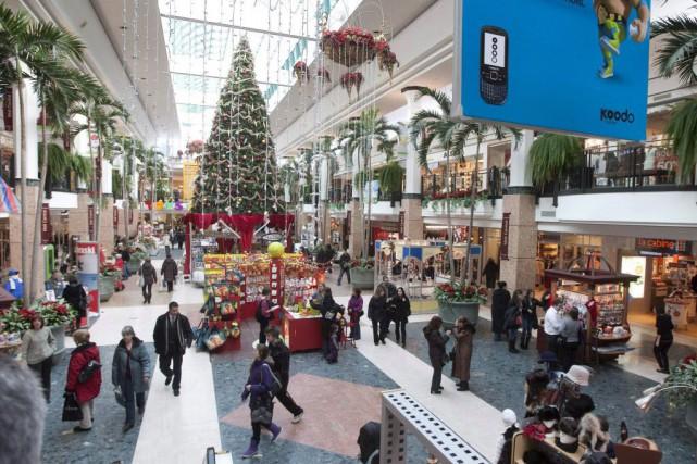 La plupart des magasins associés au magasinage des... (Photo Jacques Boissinot, La Presse canadienne)