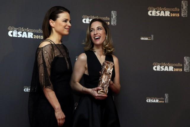 Suzanne Clément et Nancy Grant, la productrice de... (Photo Christian Hartmann, Reuters)
