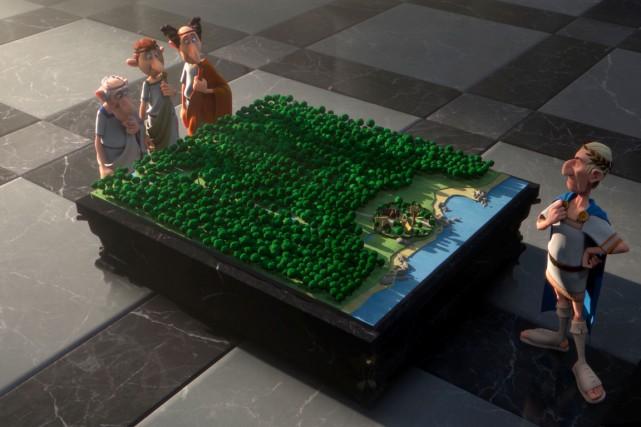 Revenir à l'animation pour un film d'Astérix est... (Photo fournie par Métropole Films)