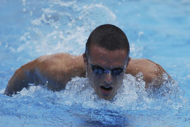 Charles Francis, nageur de niveau olympique originaire de... (photo fournie par Diane Francis)