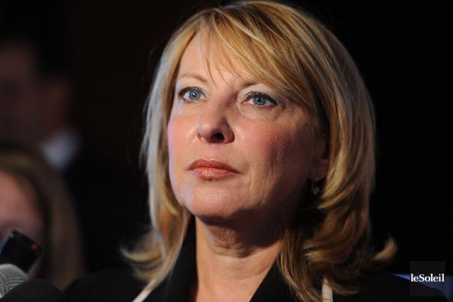La ministre des Relations internationales, Christine St-Pierre.... (Photothèque Le Soleil, Erick Labbé)