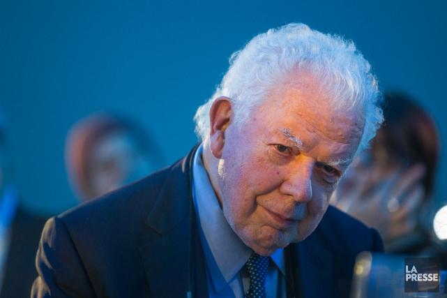 Un des pères fondateurs de SNC-Lavalin, Bernard Lamarre,... (PHOTO EDOUARD PLANTE-FRÉCHETTE, ARCHIVES LA PRESSE)