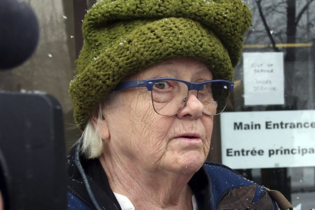 L'avocate de Ian Bush, MeGeraldine Castle-Trudel, a demandé... (Fred Chartrand, La Presse Canadienne)