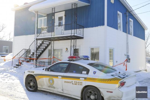 La Sûreté du Québec (SQ) enquête sur un... ((Photo Le Quotidien G)