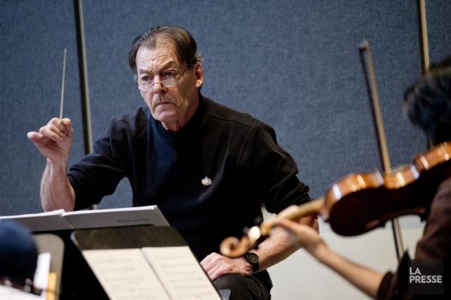 Le directeur artistique de la Société de musique... (PHOTO MARCO CAMPANOZZI, LA PRESSE)