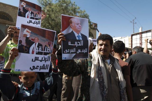 Une manifestation a été organisée à Sanaa samedi... (PHOTO MOHAMMED HUWAIS, AFP)