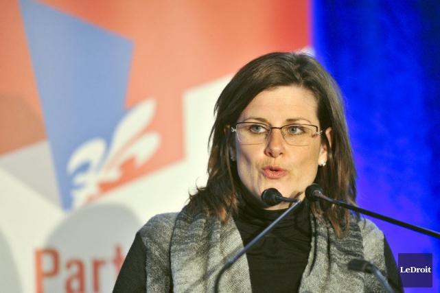 La ministre de la Justice, Stéphanie Vallée... (Martin Roy, LeDroit)