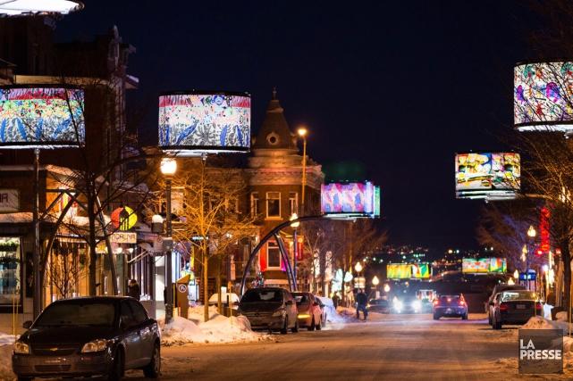 L'âme de l'avenue Cartier a été respectée dans... (Photo fournie par Patrick Mevel Photographe)
