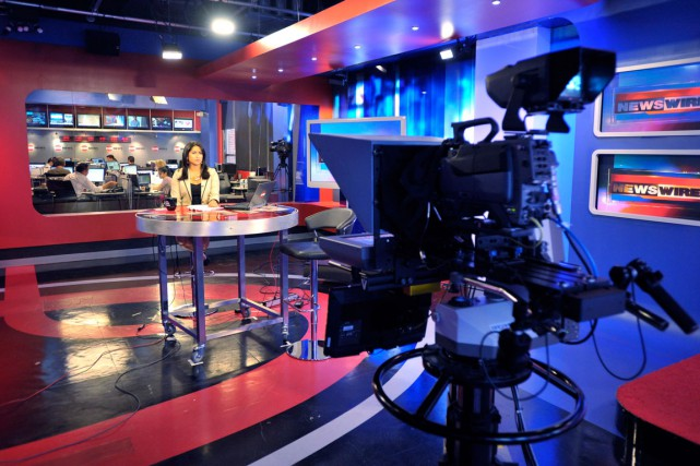 Les studios de SUN News à Toronto. Si... (Photo La Presse Canadienne, J.P. Moczulski)