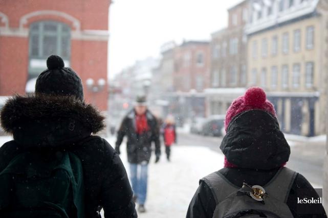 Les quartiers centraux et le Vieux-Québec présentent des... (Photothèque Le Soleil)
