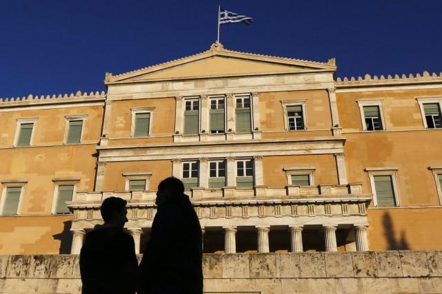 Le gouvernement d'Alexis Tsipras a obtenu de pouvoir... (PHOTO YANNIS BEHRAKIS, REUTERS)