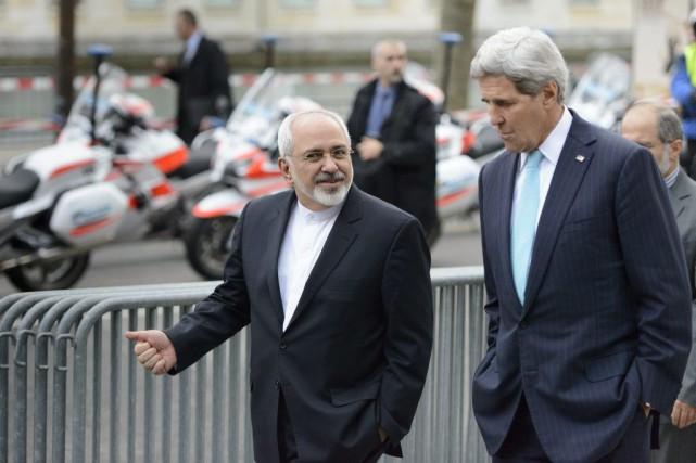 Le secrétaire d'État américain John Kerry à la... (PHOTO LAURENT GILLIERON, ARCHIVES AP)