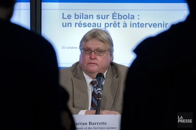 Selon le ministre de la Santé Gaétan Barrette,... (Photo Ivanoh Demers, archives La Presse)