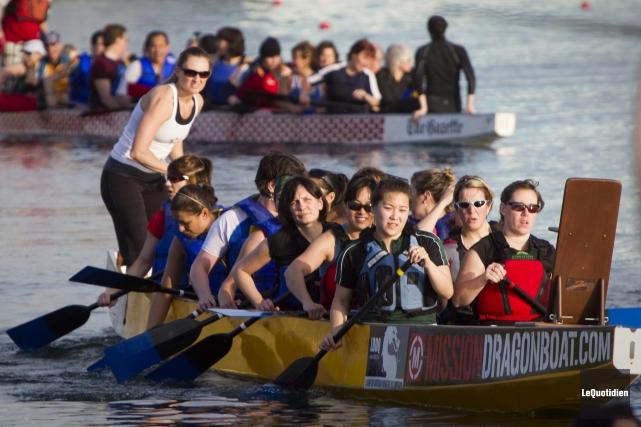 L'organisme qui régit les courses de bateaux-dragons au... ((Archives Le Quotidien))