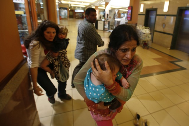 Une attaque terroriste au Mall Westgate à Nairobi,... (PHOTO GORAN TOMASEVIC, ARCHIVES REUTERS)