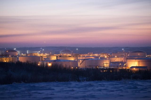 Les prix du pétrole sont en chute libre... (PHOTO BRETT GUNDLOCK, BLOOMBERG)