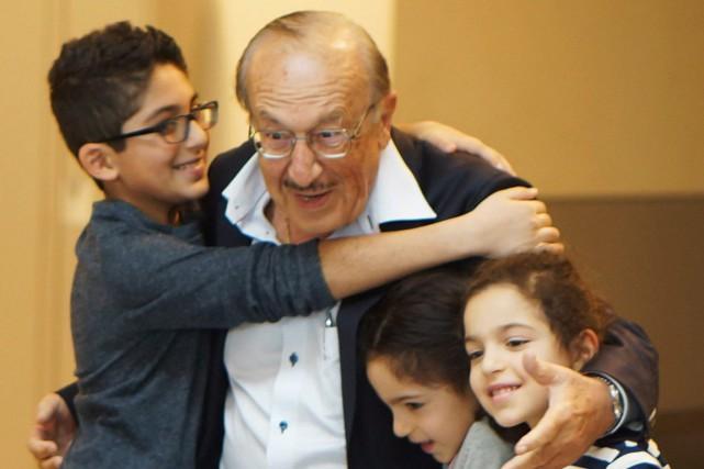 Cy Tokmakjian, 77 ans, est rentré chez lui... (Photo PC)