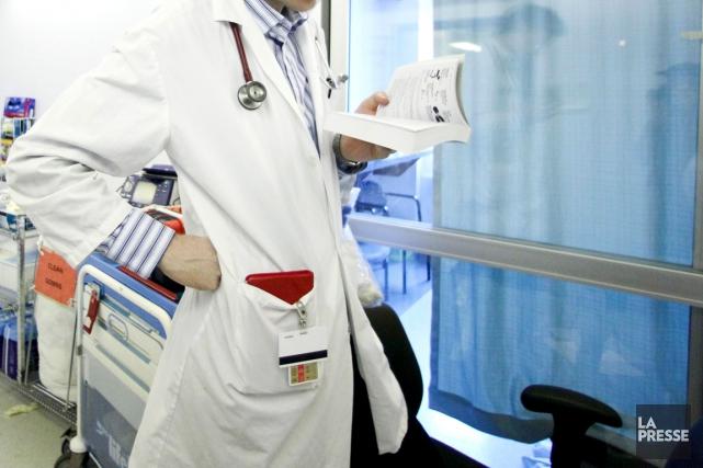 «Un médecin est là pour poser un diagnostic... (Archives La Presse)