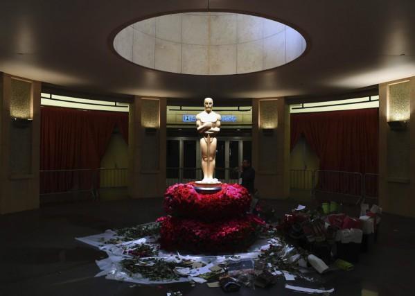 La 87e cérémonie des Oscars a lieu dimanche... (Photo AFP, Mark Ralston)