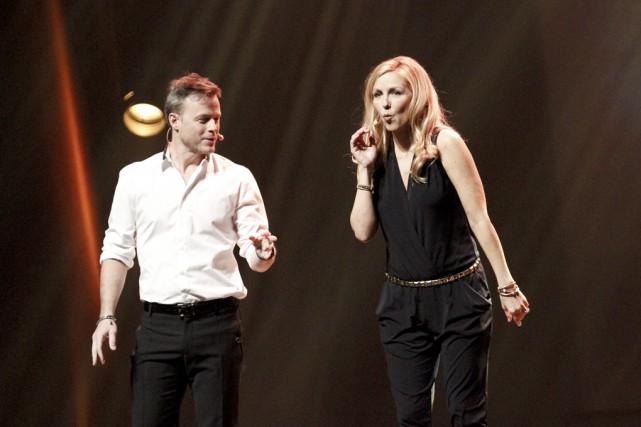 Louis Morisette et Véronique Cloutier ne réinventent pas... (photo Julie Catudal)