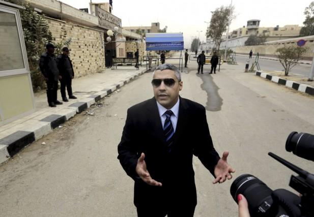 Mohamed Fahmy, qui a renoncé à sa citoyenneté... (Photo: AP)