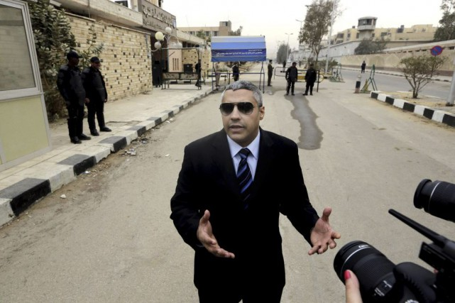 Mohamed Fahmy, qui a renoncé à sa citoyenneté... (PHOTO AMR NABIL, ASSOCIATED PRESS)