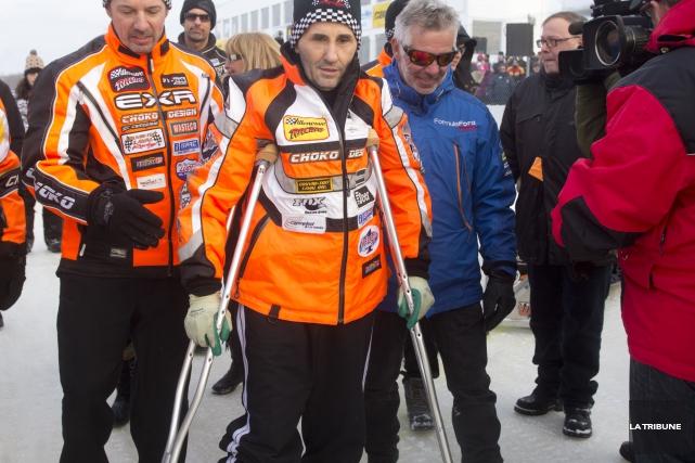 Jacques Villeneuve... (Imacom, Julien Chamberland)