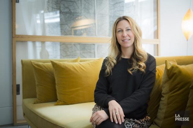 La directrice nationale d'EtsyCanada, Erin Green, souligne que... (Photo Edouard Plante-Fréchette, La Presse)