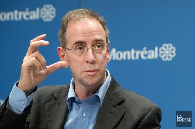 Réal Ménard, responsable du développement durable au comité... (PHOTO ROBERT SKINNER, LA PRESSE)