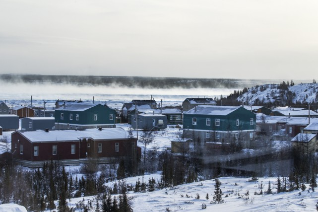 Kuujjuaq, au Québec... (PHOTO OLIVIER PONTBRIAND, ARCHIVES LA PRESSE)