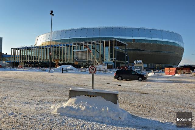 Le nouvel amphithéâtre de Québec.... (Photo Patrice Laroche, Le Soleil)
