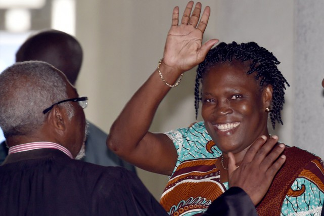 Très incisive, Simone Gbagbo, surnommée «la Dame de... (PHOTO ISSOUF SANOGO, ARCHIVES AFP)