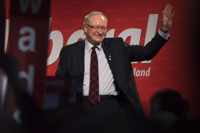Wade MacLauchlan... (PHOTO ANDREW VAUGHAN, LA PRESSE CANADIENNE)