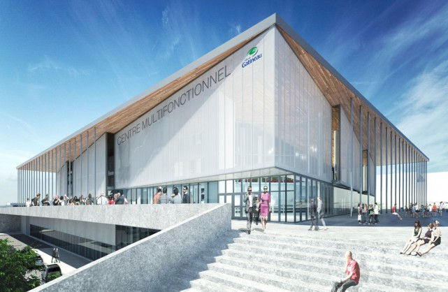 Les changements aux plans de construction du centre multifonctionnel et la... (Archives, LeDroit)