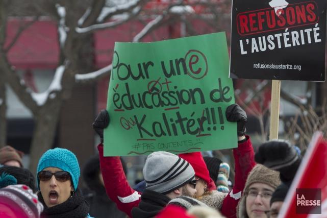 Cette manifestation prend place dans le cadre d'un... (PHOTO OLIVIER JEAN, ARCHIVES LA PRESSE)