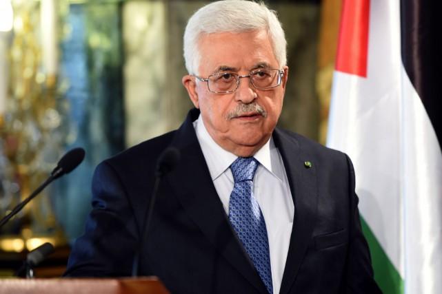Le président de l'Autorité palestinienne, Mahmoud Abbas.... (PHOTO FETHI BELAID, ARCHIVES AFP)