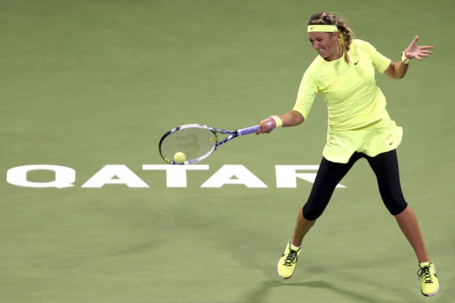Victoria Azarenka... (PHOTO FADI AL-ASSAAD, REUTERS)