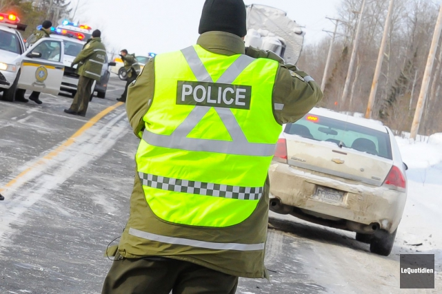 Deux conductrices, dont une employée de la SAAQ, ont été blessées lors d'une... (Archives Le Quotidien)