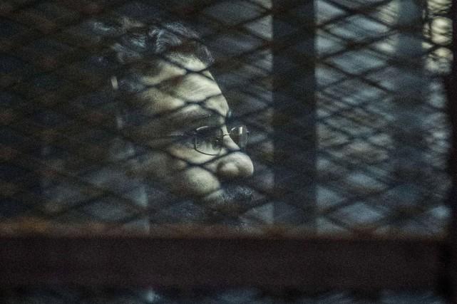Alaa Abdel Fattah, une figure de la révolte... (PHOTO KHALED DESOUKI, AFP)