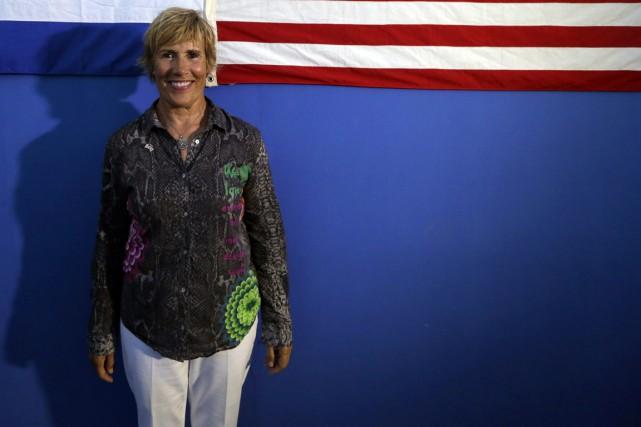 Diana Nyad n'en est pas à son coup... (Photo Reuters)