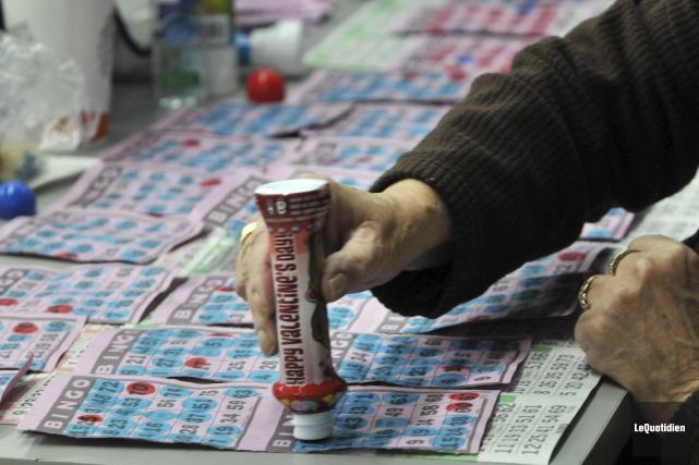 Les activités de bingo cesseront le 31 mai... ((Photo Le Quotidien, Michel Tremblay))