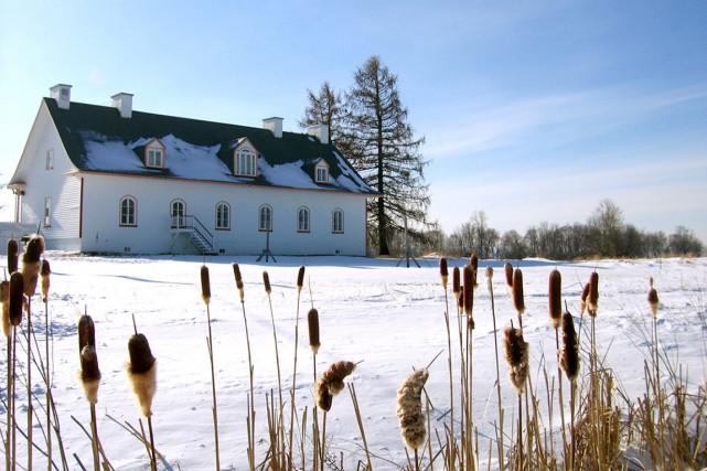 La maison abritant la Grande Ferme a été... (Photo fournie par la Corporation du centre d'initiation au patrimoine - La Grande Ferme)