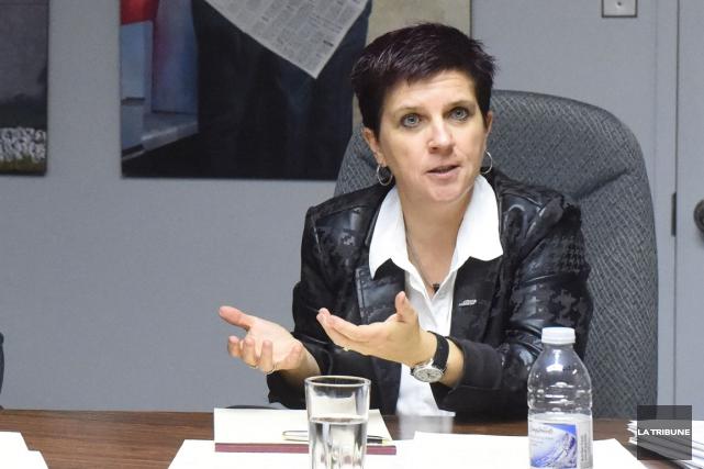 Marie-France Bélanger... (Archives La Tribune)