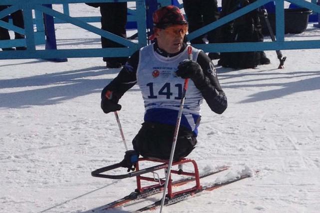 YvesBourquea remporté la médaille d'or au 2,5 kilomètres... (Photo: Équipe Québec)