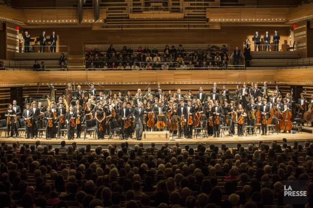 L'Orchestre symphonique de McGill joue Messiaen vendredi soir... (Photo Olivier Pontbriand, Archives La Presse)